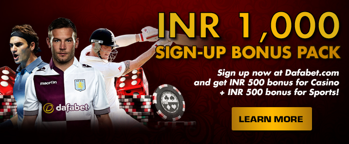 INR 1,000 Sign-Up Bonus Pack